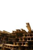 Rust H-strålar Fotografering för Bildbyråer