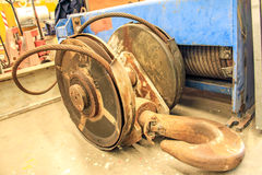Rust Hoist Royalty Free Stock Photos