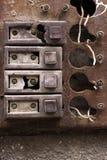 Rust intercom Stock Images