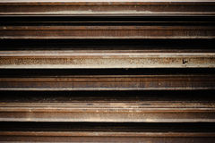 Rust iron beam Stock Images