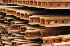 Rust iron beam Royalty Free Stock Photos