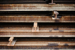 Rust iron beam Royalty Free Stock Images