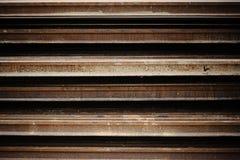 Rust iron beam Stock Photo