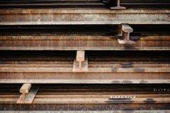 Rust iron beam Stock Photos