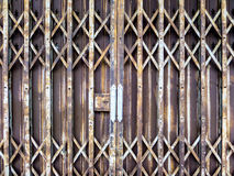 Rust iron gate Royalty Free Stock Images