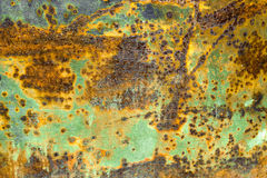 Rust iron metal surface. Texture and background. Rusty and corroded metal surface. Grungy texture and background Stock Photos