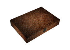 Rust iron safety box Royalty Free Stock Photo