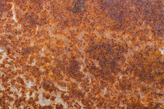 Rust. Macro photography of a rusty old metal piece Royalty Free Stock Photo