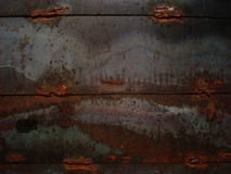 Rust metal. Illustration of iron aged rust pattern, background Royalty Free Stock Images