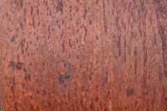 Rust on metal background Royalty Free Stock Image