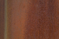 Rust metal background. Closeup photo of a rusting metal surface Stock Photography