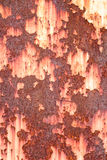 Rust  metal  background Stock Image