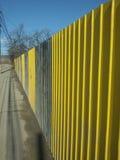 Rust metal fence Royalty Free Stock Photos