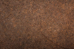 Rust metal mesh background Royalty Free Stock Images
