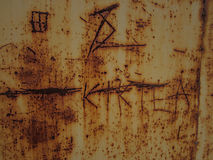 Rust metal Stock Image