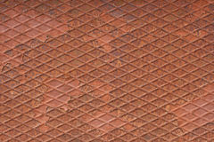 Rust metal plate Royalty Free Stock Photo