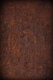 Rust metal plate background Royalty Free Stock Photo