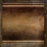 Rust metal steampunk background Royalty Free Stock Images