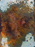 Rust on Metal Surface Royalty Free Stock Images