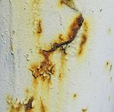 Rust on metal. Surface background stock image