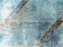 Old metal texture with rusted stitches royalty free stock photos