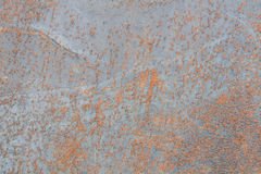 Rust on metal surfaces Caused by a reaction of metal and air hum. Idity royalty free stock photos