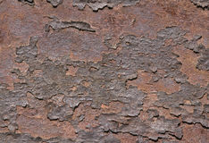 Rust on metal, texture Royalty Free Stock Photo