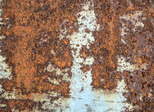 Rust metal texture. Old rust metal texture background Royalty Free Stock Image