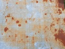 Rust. On metal wall texture Stock Photo