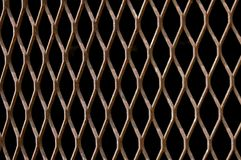 Rust Metallic fence Royalty Free Stock Photos