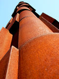Rust metallic structure Royalty Free Stock Images