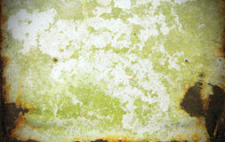 Rust moss coating stains metal texture. Background Stock Image