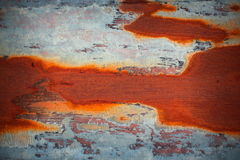 Rust on old metal surface Royalty Free Stock Photos