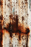 Rust On Surface Of Iron Plate Stock Photography