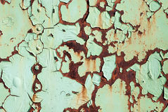 Rust paint Royalty Free Stock Photo
