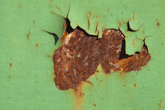 Rust and paint texture Stock Photo