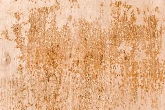 Rust on painted metal Stock Photography