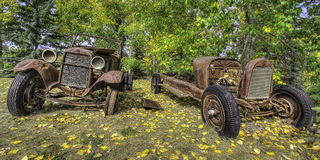 Rust in Peace HDR Royalty Free Stock Image