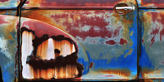 Rust Rainbow Stock Photo
