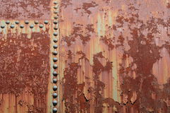 Rust and Rivets Royalty Free Stock Photos