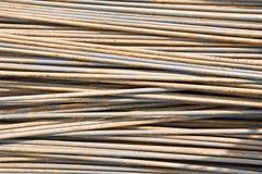Rust on rod steel Stock Image