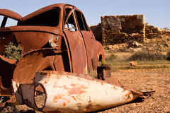 Rust and ruins Royalty Free Stock Image
