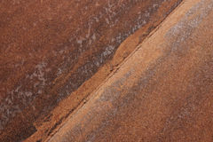 Rust_2. Rusty metal surface with welding seam Stock Photography