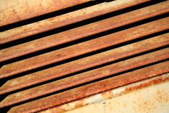 Rust. Y texture and deep shadow Stock Photography