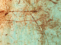 Rust and scratched paint Royalty Free Stock Photos