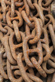Rust ship chain Royalty Free Stock Photos