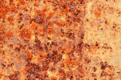 Rust spots on a steel plat.. Stock Photos