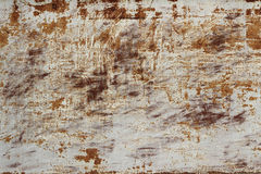 Rust stains on the sheet metal  background Stock Photos