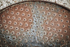 Rust stars Royalty Free Stock Photography