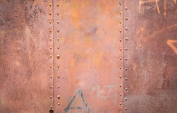 Rust steel background Stock Images